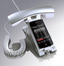 iClooly: An Office Handset iPhone Dock