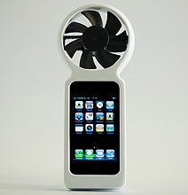 iFan: Charges Your iPhone Using Pure Wind Power!
