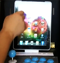 The Illest Custom Made Retro iPad Arcade Cabinet Ever!