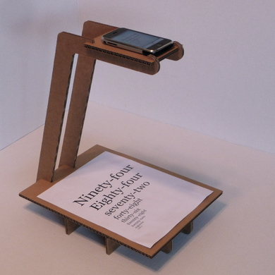 Low Budget Scanner – iPhone or Scanner
