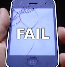 The Many Fails of The iPhone