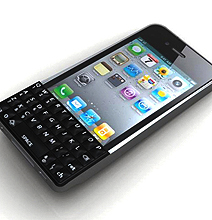 Finally A Real QWERTY Keyboard For The iPhone 4!