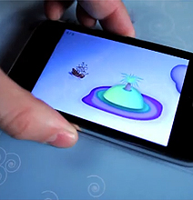 (i)Pirate Board Game: An iPhone World Interactivity Activated