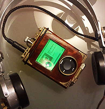 Steampunk iPod Case Goes Beyond Extraordinary Details