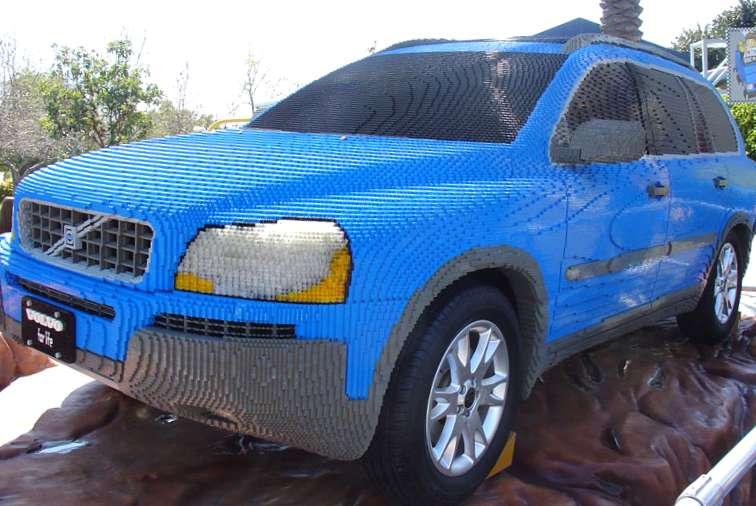 Can't Afford A Car? Build A Lego One…