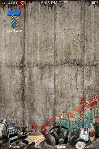 iPhone Graffiti Theme - 2