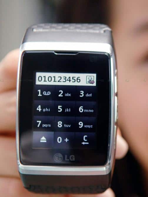 Wristwatch Video Phone July Release?
