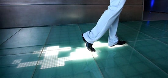 Trace Your Footsteps – LED Floor