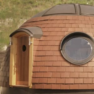Eco-House: Bit like a tardis…