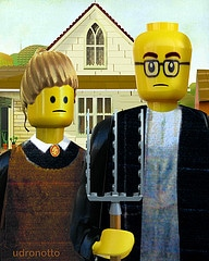 Famous Artworks Lego-lized