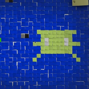 Post-it shooter – a new kind of office wars?
