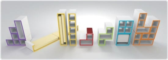 Tetris Furniture – Reflexion