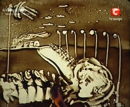 Ukraine's Ultimate Talent – Sand Animation