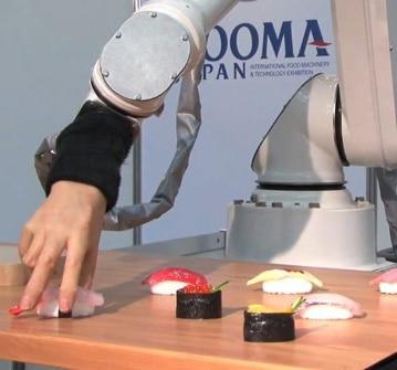 Beware: Fleshy Robot Hand