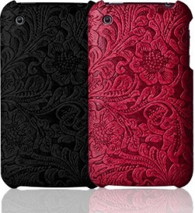 aUltra case Carve synthetic leather cool iPhone cases_red black_images