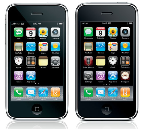 Difference of iPhone 3G and 3GS
