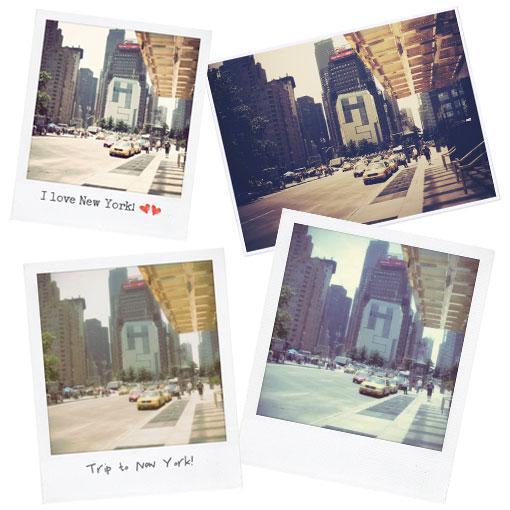 Digital Photo to Polaroid Picture