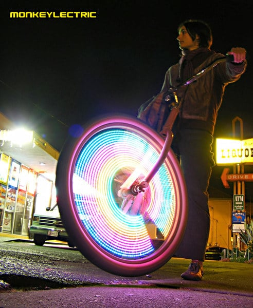 LED Revolutionary Bicycle Lighting