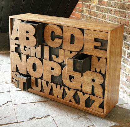 Alphabet Drawer