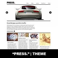 Press. | Theme