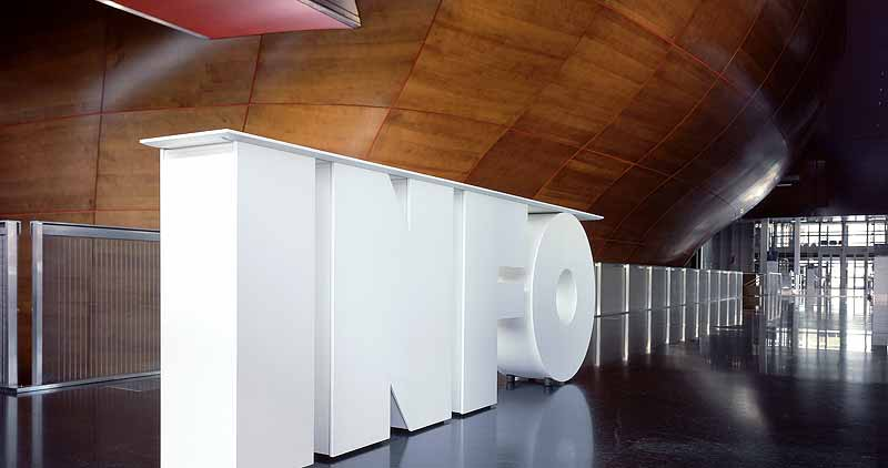 Oversized Typographic Furniture