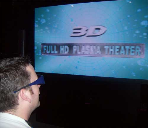 Mind Altering 3-D TV