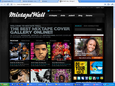 Check out my Mixtape Wall