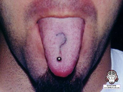 The Wild & Crazy Art of Tongue Tattoos