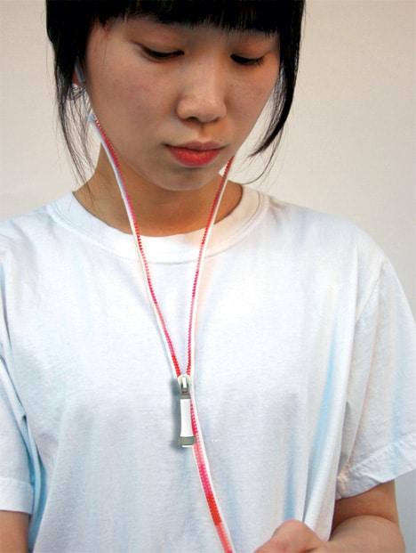 Zipper Earphones | Concept Design
