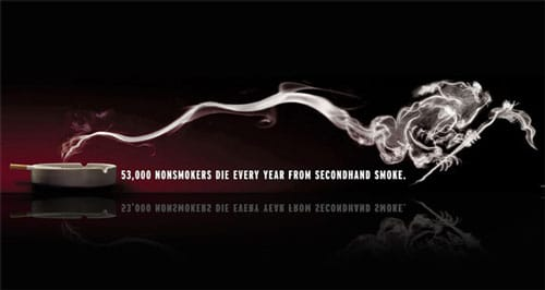 Bold Anti-Smoking ads
