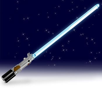 LightSabre Lamp for the Star Wars Geek in You!