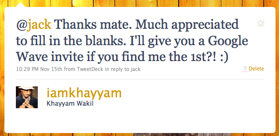 And then @iamkhayyam said...