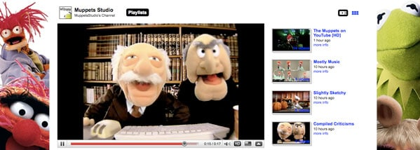 Check out the Muppets Lab over at YouTube!