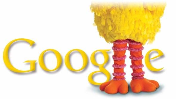Google Doodle | Sesame Street Celebrating 40 Years!