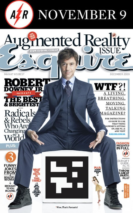 Esquire's Augmented Reality Issue