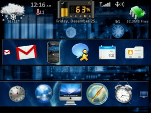 Collection of Cool Themes For BlackBerry