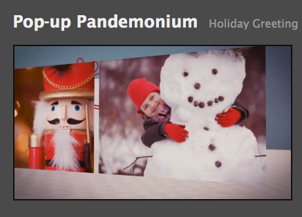 Personalize Your Greeting (e)Cards via Video