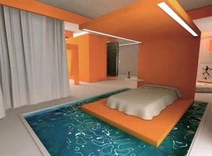 moat-bed-in-a-swimming-pool