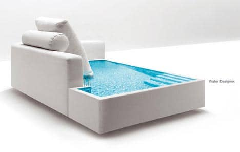 Funky Water Furniture Design!