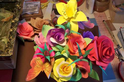 How To: Make Paper Flowers