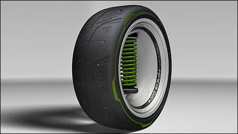 Kumho Tire Etching - 1