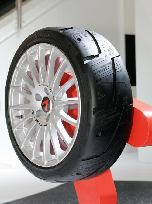 Kumho Tire Etching - 3