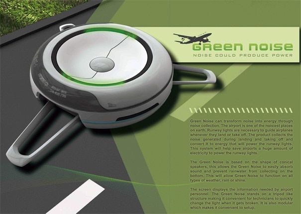 Green Noise | Noise Converted Into Electricity!