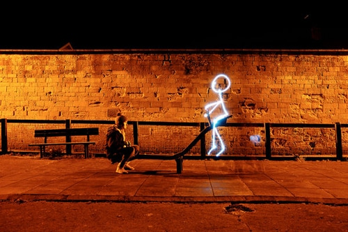 Thank You To Digital Photography School 25 Spectacular Light Painting Images For These Amazing Photos