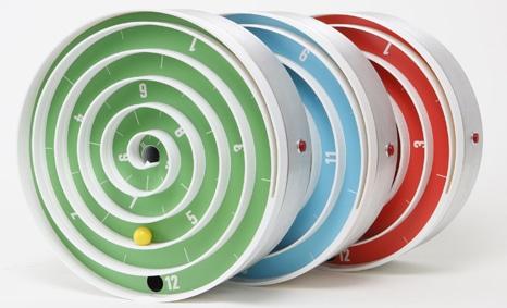Hypnotizing Clock   Spiral Time Teller