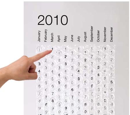 Squeeze to Pop Calendar