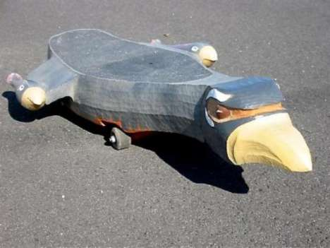 Hand Carved Skateboards | Next Generation Cool?