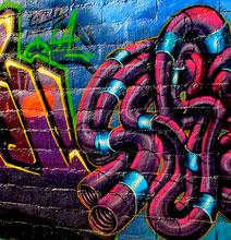 Urban Camouflage Art | Graffiti Style