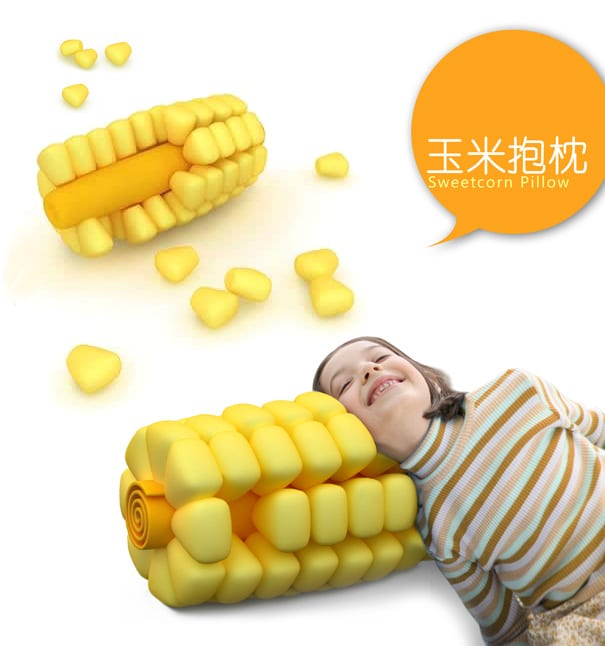 Sleeping On A Corn Cob Has Never Been This Comfortable!