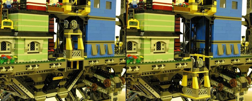 Insane LEGO Build | ECO-Punk Crawler City